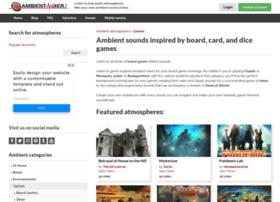 boardgames.ambient-mixer.com