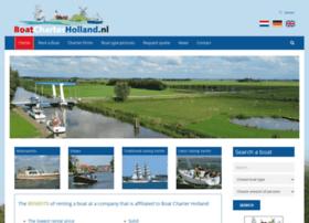 boatcharterholland.com