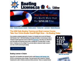 boatinglicense.ca