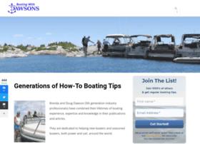 boatingwithdawsons.com