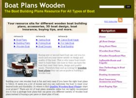 boatplanswooden.com