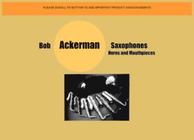 bobackermansaxophones.com