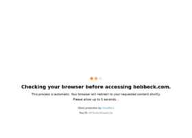 bobbeck.com
