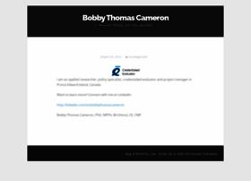 bobbycameron.net
