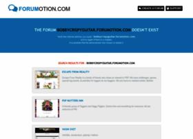 bobbycrispyguitar.forumotion.com
