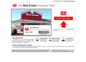 bobevans.couponrocker.com