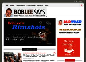 bobleesays.com