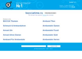 bocciatime.ru
