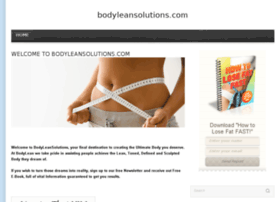bodyleansolutions.com