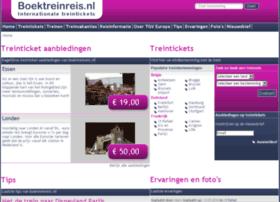 boektreinreis.nl