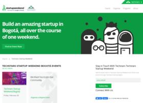 bogotaenglish.startupweekend.org