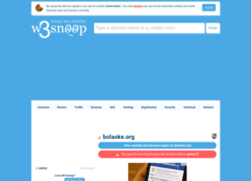 bolaoke.org.w3snoop.com