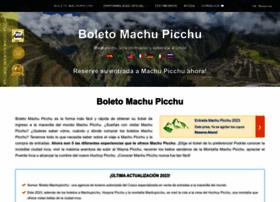 boletomachupicchu.com