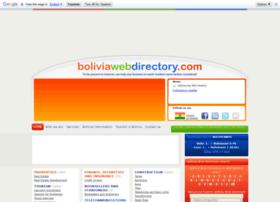 boliviawebdirectory.com