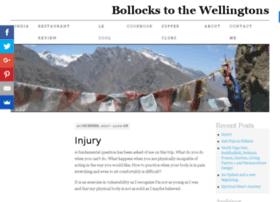 bollocks2thewellingtons.com