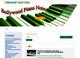 bollywoodpianonotes.com