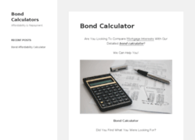 bondcalculators.co.za