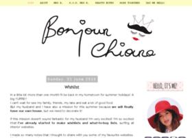 bonjourchiara.blogspot.com