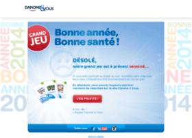 bonneannee.danoneetvous.com