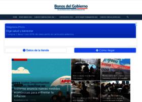 bonosdelgobierno.com