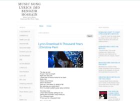 bonylyrics.blogspot.com