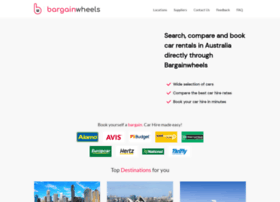 book.bargainwheels.com.au