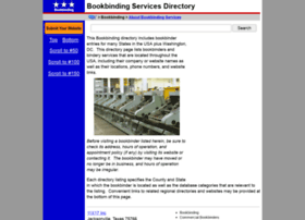 bookbinding.regionaldirectory.us
