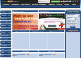 bookindiaevents.com