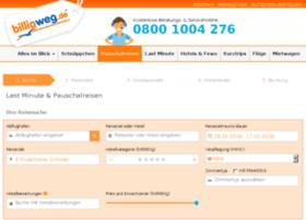 booking.billigweg.de