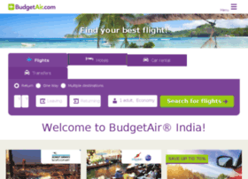 booking.budgetair.in