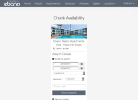 booking.ebano.co.uk