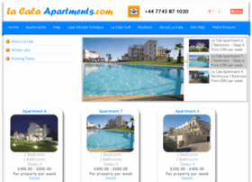 booking.lacalaapartments.com