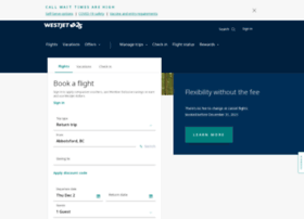 booking.westjet.com