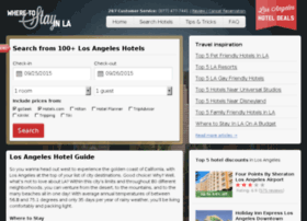 booking.wheretostayinla.com
