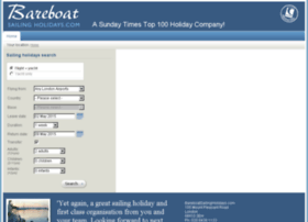 bookings.bareboatsailingholidays.com