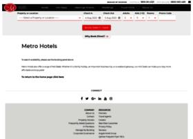 bookings.metrohotels.com.au
