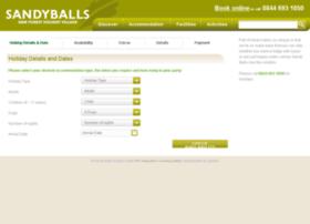 bookings.sandyballs.co.uk