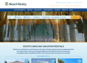 bookings.scbeachrealty.com