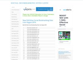 bookmarking-sites.com