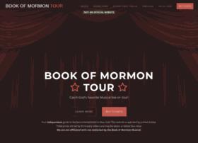 bookofmormontour.com