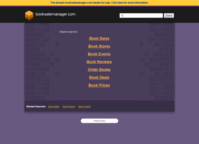 booksalemanager.com