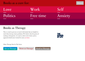 booksastherapy.com