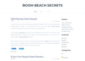 boombeachsecrets.weebly.com