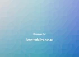 boomedalive.co.za