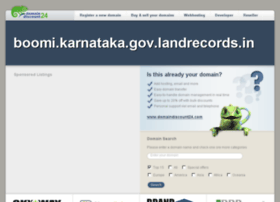 boomi.karnataka.gov.landrecords.in