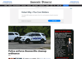 boonevilledemocrat.com