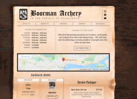 boormanarchery.com