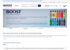 boostpromotionalproducts.com.au