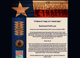 bootscootintraffic.com