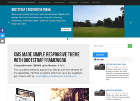 bootstrap.cmsmadesimple-themes.com